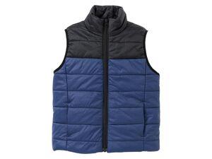 PEPPERTS® Steppweste Jungen, mit Reißverschluss, Taschen, leicht wattiert, wasserabweisend