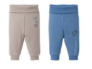 LUPILU® Baby Jungen Jogginghose 2er Pure Collection