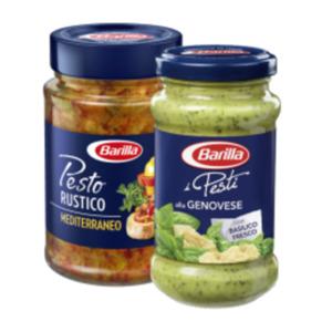 Barilla Pesto, Pesto Rustico oder Sauce