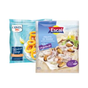 Escal Frutti di Mare, Costa Tintenfischringe, Frutti di Mare oder Muscheln