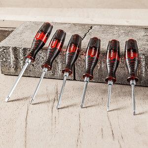 Kraft Werkzeuge Meißel-Schraubendreher 6tlg.