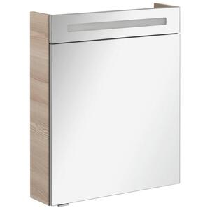 Spiegelschrank in Esche mit Beleuchtung 'B.Clever'