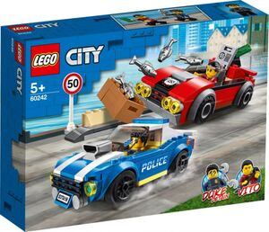 LEGO® City Police 60242 - Festnahme auf der Autobahn