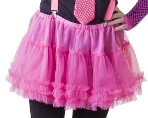 Petticoat - für Erwachsene - pink - verschiedene Größen
