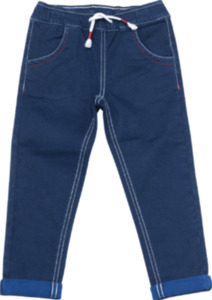 ALANA Kinder Hose, Gr. 92, in Bio-Baumwolle und Elasthan, blau