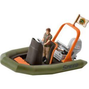 Schleich® Schlauchboot mit Ranger