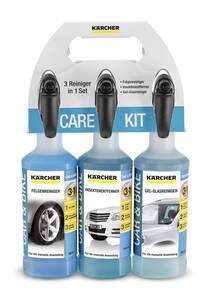 Care Kit, Felgereiniger, Glasreiniger und Insektenentferner je 500 ml Kärcher