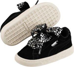 Sneakers Low Suede Heart AthLuxe PS  schwarz Gr. 31 Mädchen Kinder