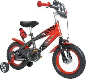 Kinderfahrrad12 Zoll grau / rot mit Stützrädern