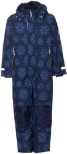 Schneeanzug mit abnehmbarer Kapuze  blau Gr. 92 Jungen Kleinkinder