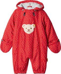 Baby Schneeanzug mit Füßen  rot Gr. 80 Mädchen Kinder