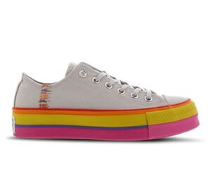 Converse CHUCK TAYLOR ALL STAR LIFT RAINBOW OX - Damen