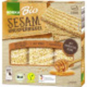 EDEKA Bio Sesam Knusperriegel 3x 25 g