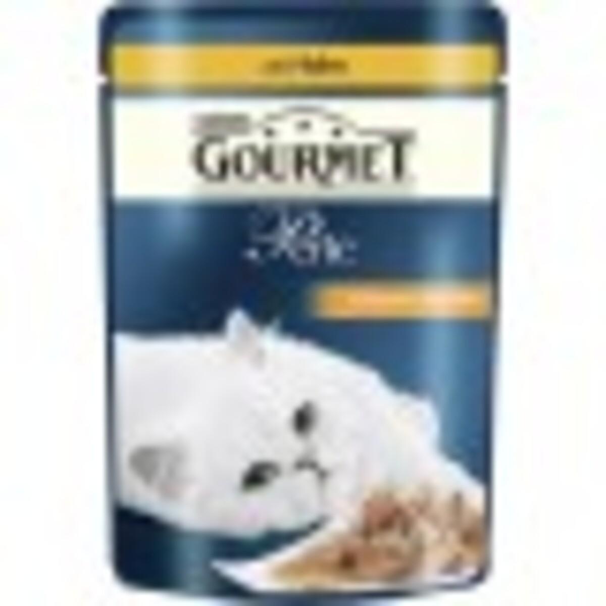 Bild 1 von Purina Gourmet Perle Erlesene Streifen mit Huhn Katzenfutter nass 85 g