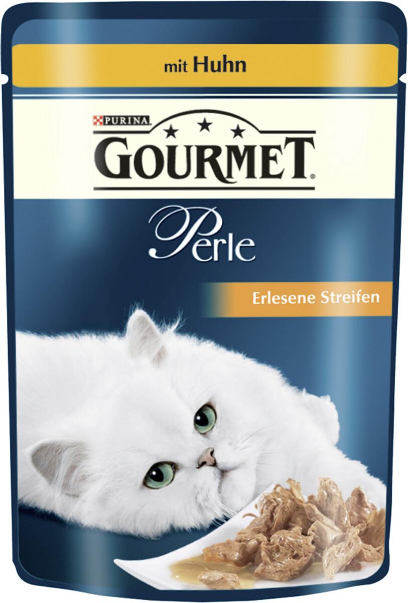 Bild 2 von Purina Gourmet Perle Erlesene Streifen mit Huhn Katzenfutter nass 85 g