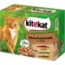 Bild 1 von Kitekat Fleischauswahl in Sauce Katzenfutter nass Multipack 12x 100 g