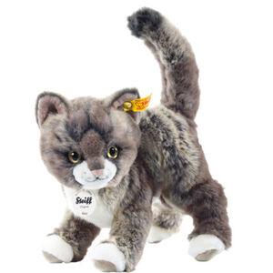 Steiff Mizzy Katze, grau/beige, Grautöne