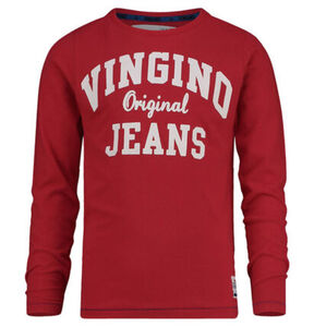 """Vingino Langarmshirt, Aufschrift """"Vingino Original Jeans"""" für Jungen"""