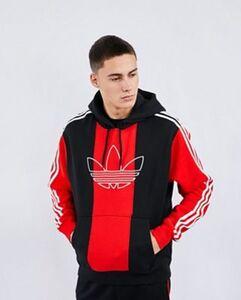 adidas Sprt Block Stripe Over The Head - Herren Hoodies
