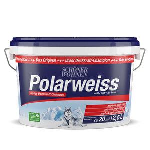 """Schöner Wohnen Farbe              Wand- und Deckenfarbe """"Polarweiss"""", matt         2.5"""