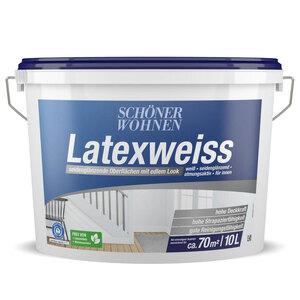Schöner Wohnen Farbe              Latexfarbe seidenglänzend 10 Liter         10