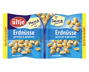 ültje Erdnüsse Meins/Deins