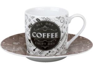 KÖNITZ 1150532278 Coffee Talk Espresso 4er Espressotassen