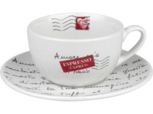 KÖNITZ 17 5 A11 2600 Coffee Bar - Amore Mio 4-tlg. Café Latte-Tassen-Set