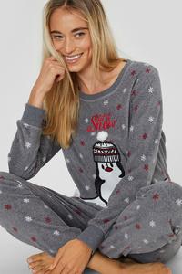 Fleece-Pyjama