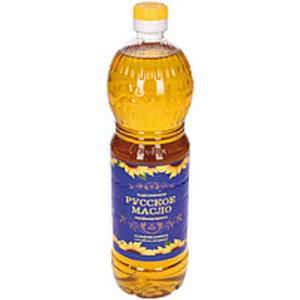 """Nicht raffiniertes Sonnenblumenöl """"Russkoe maslo"""", warmgepre..."""
