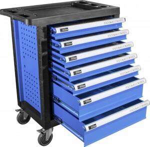 Güde Werkstattwagen Premium GWP 07 ,  250-teiliges Werkzeug-Set