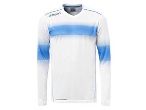 uhlsport Torwart Trikot weiß/blau