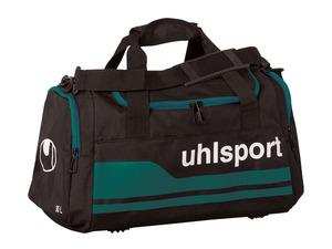 uhlsport Sporttasche basic line 2.0 schwarz/grün
