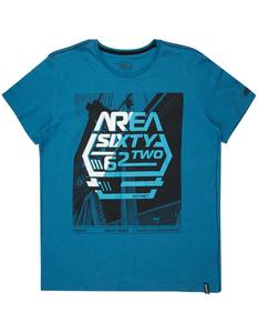 Herren T-Shirt mit gummiertem Message-Print
