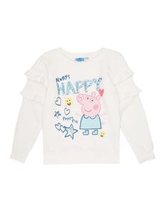 Mädchen Sweatshirt mit Peppa Pig-Print