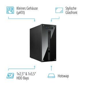 MEDION AKOYA® P66082, Intel® Core™ i5-9400F, Windows10Home, GTX 1650, 256 GB SSD, 1 TB HDD, 8 GB RAM, Performance PC