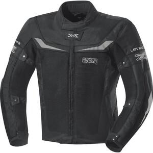 IXS Levante Herren Textiljacke schwarz Größe 4XL