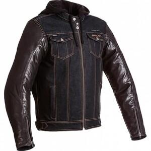 Segura Veloce Leder-/Textiljacke blau Herren Größe L