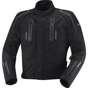 IXS X-Motorradjacke Drake schwarz Herren Größe S