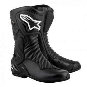 Alpinestars SMX 6 V2 Goretex Stiefel Motorradstiefel schwarz Herren Größe 43
