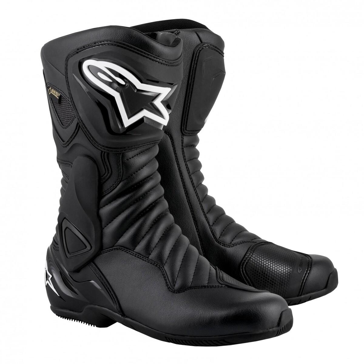 Bild 1 von Alpinestars SMX 6 V2 Goretex Stiefel Motorradstiefel schwarz Herren Größe 43