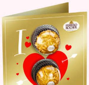 Ferrero Grußkarte