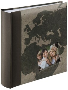 Memo-Album Lucera für 200 Fotos im Format 10x15cm braun