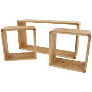 Bambus Wandboxen