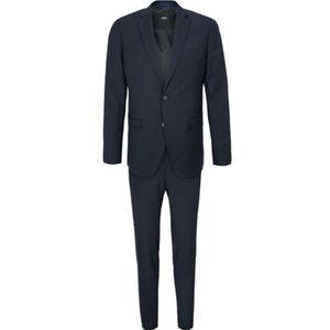 S.Oliver Black Label Anzug, 2-teilig, Nadelstreifen, für Herren