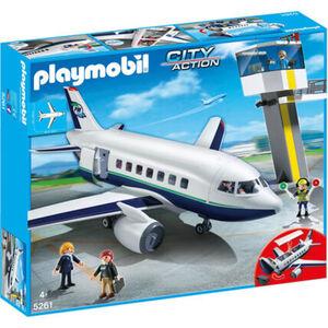 PLAYMOBIL® City Action - Cargo- und Passagierflugzeug 5261