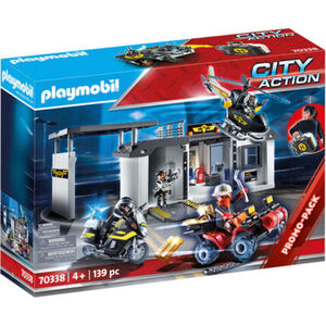 PLAYMOBIL® City Action - Große Mitnehm-SEK-Zentrale 70338