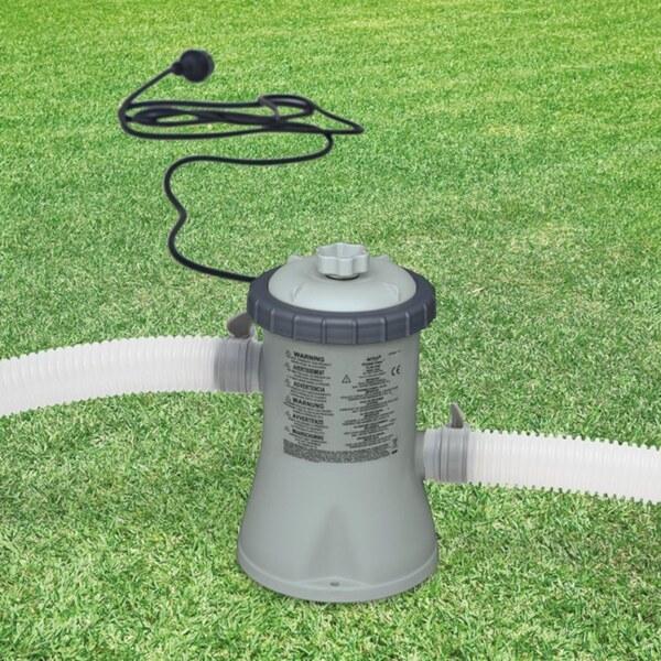Intex - Cartridge Filter Pumpe, 330 GPH