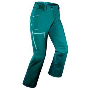 Skihose Freeride FR 500 Damen grün