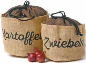Zwiebel- oder Kartoffelsack